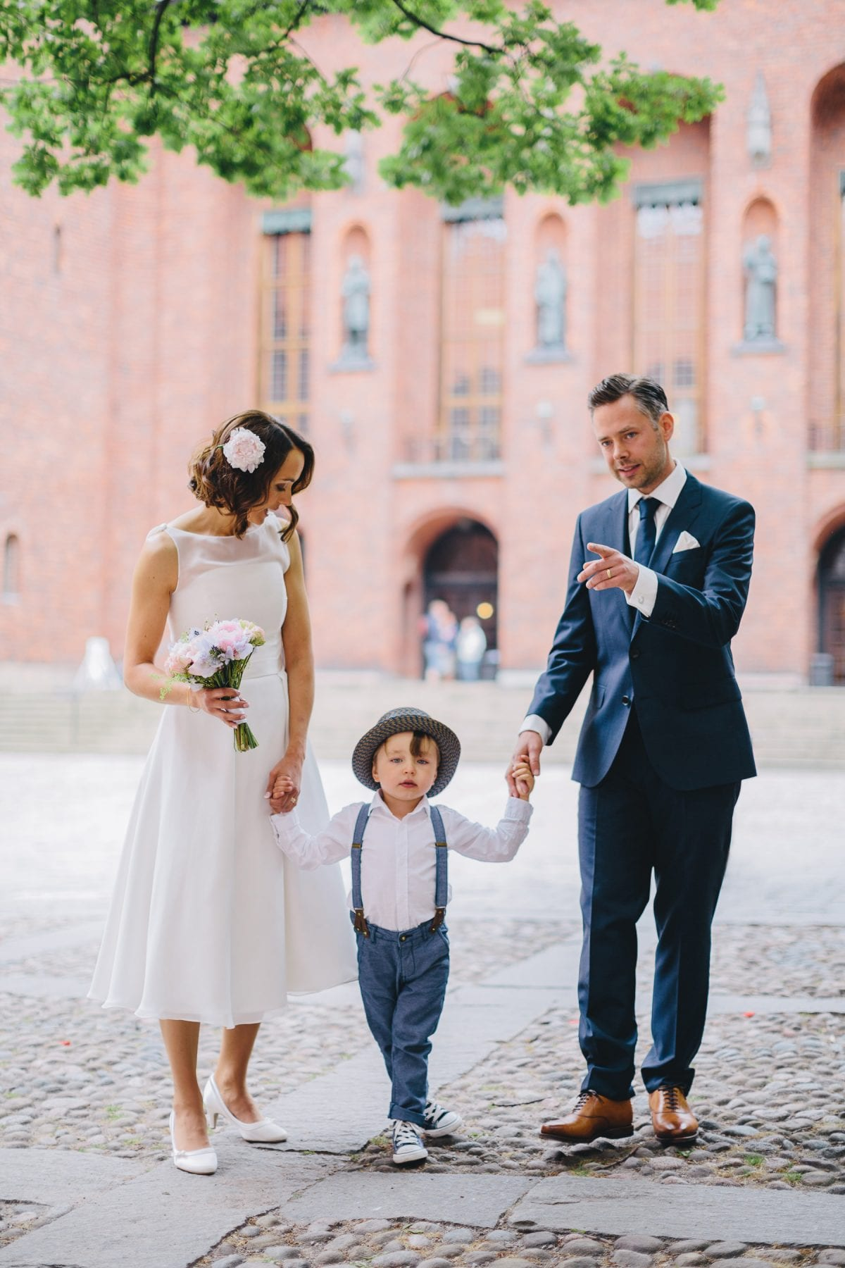 stockholm city hall wedding ceremony photographer