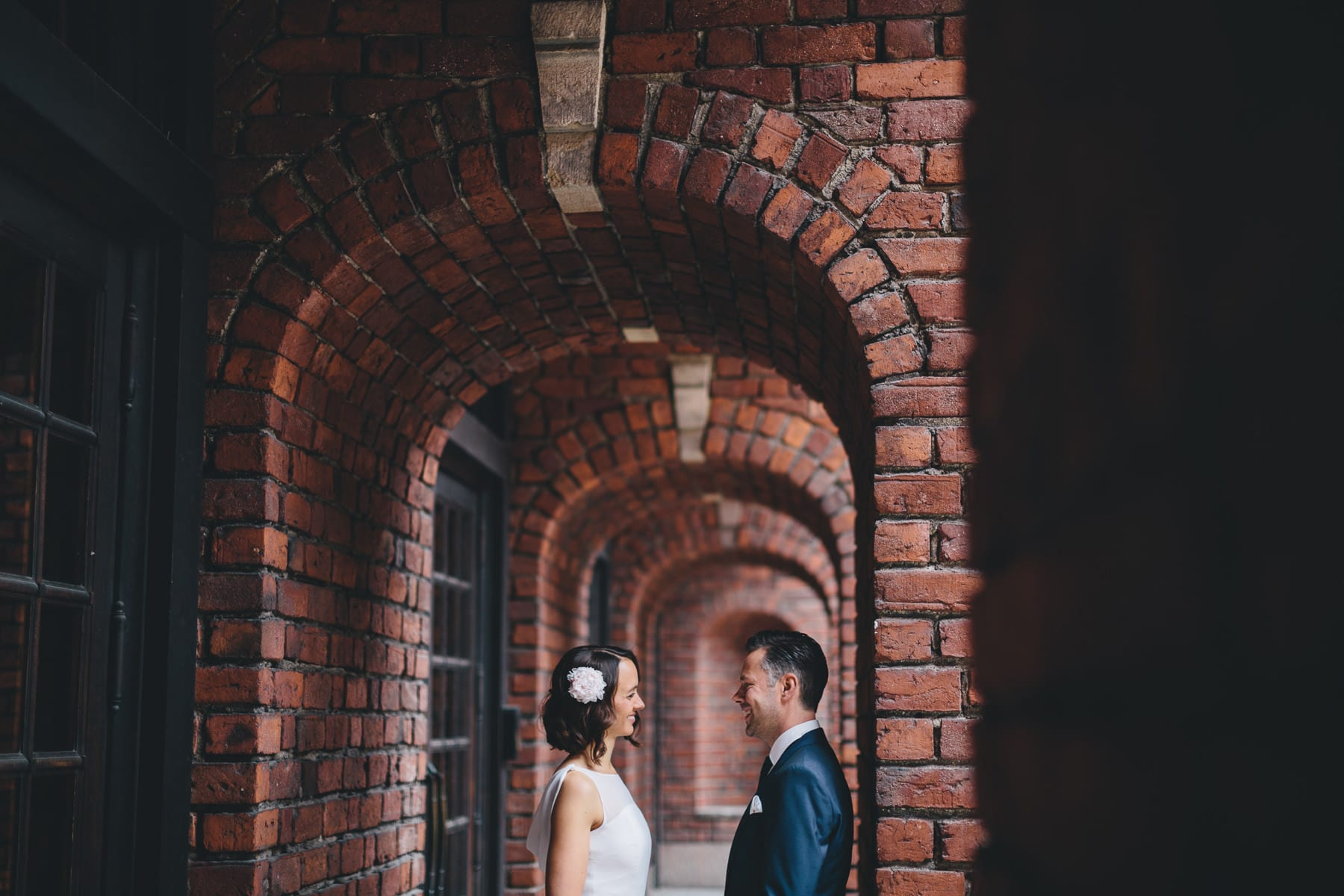 stockholm city hall wedding ceremony