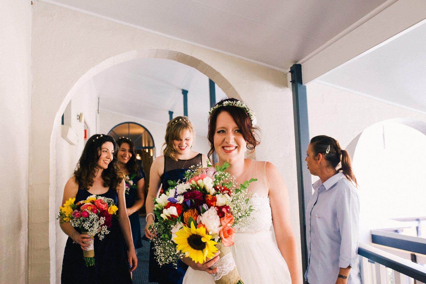 colorful bride sydney polo club