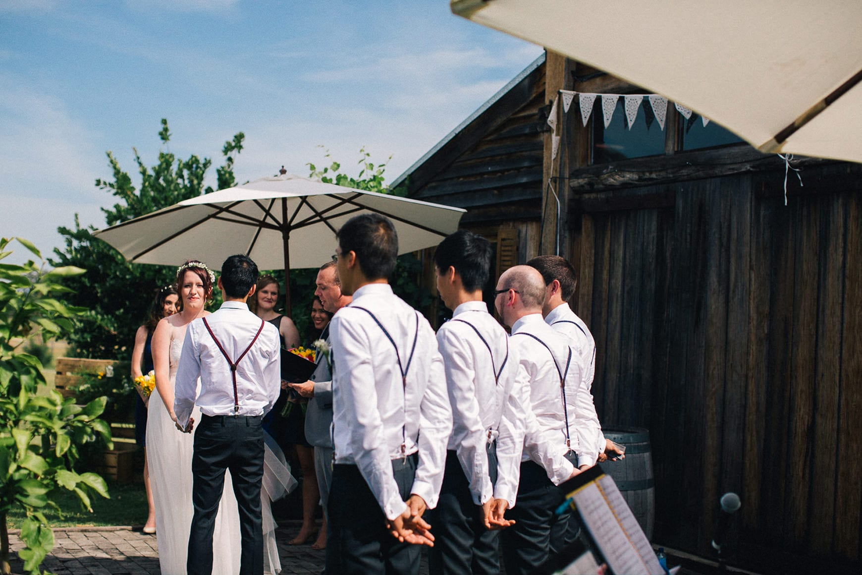 sydney polo club barn wedding vigsel utomhus