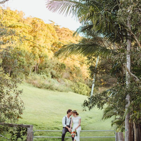 WHEN DAN MARRIED HIS MERMAID… | A SNEAK PEEK | INTIMATE BEACH WEDDING, BYRON BAY