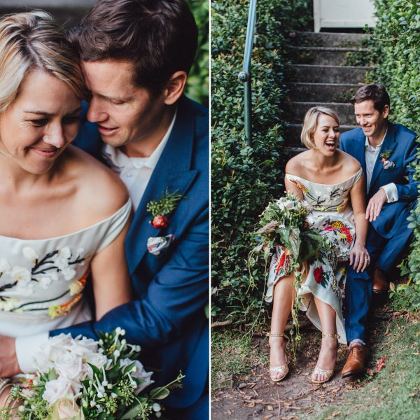 IAN AND HAYLEY'S COLOURFUL WEDDING IN MCKELL PARK + RANSA, RUSHCUTTERS BAY