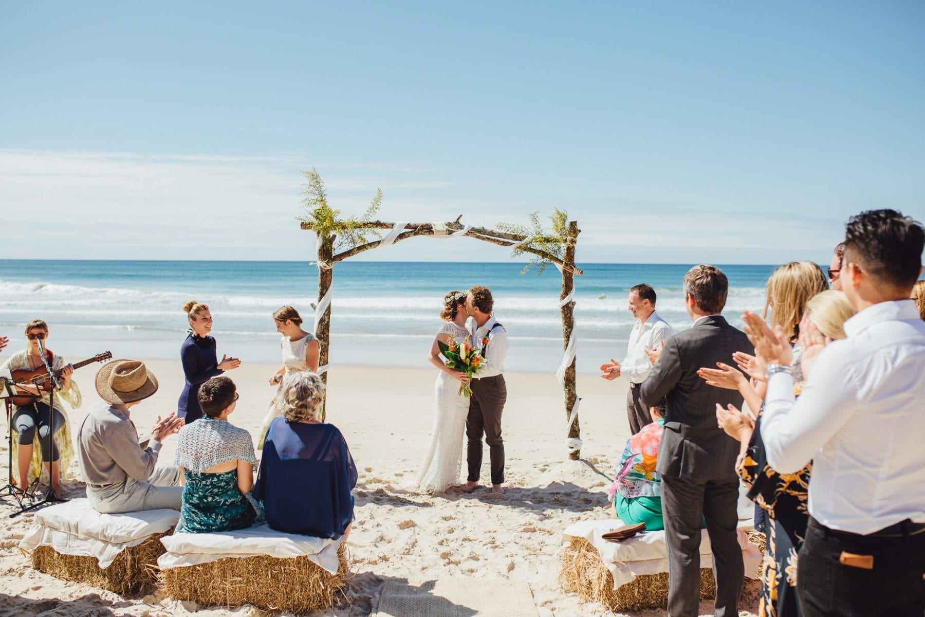 beach wedding photographer northern beaches sydney