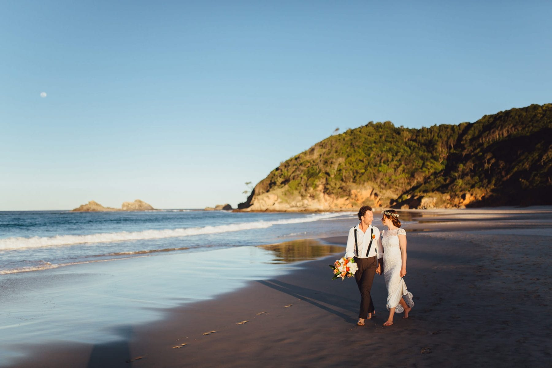barefoot wedding northern beaches sydney