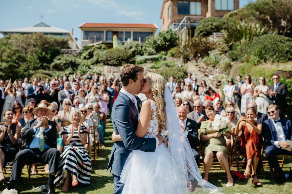 EMILY AND HARRY'S AMAZING GARDEN WEDDING BY THE SEA