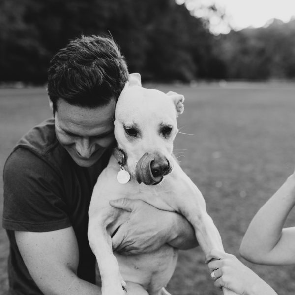 MADDY AND JAMES' COUPLE / PET PHOTOGRAPHY SESSION IN CAMMERAY / PRIMROSE PARK