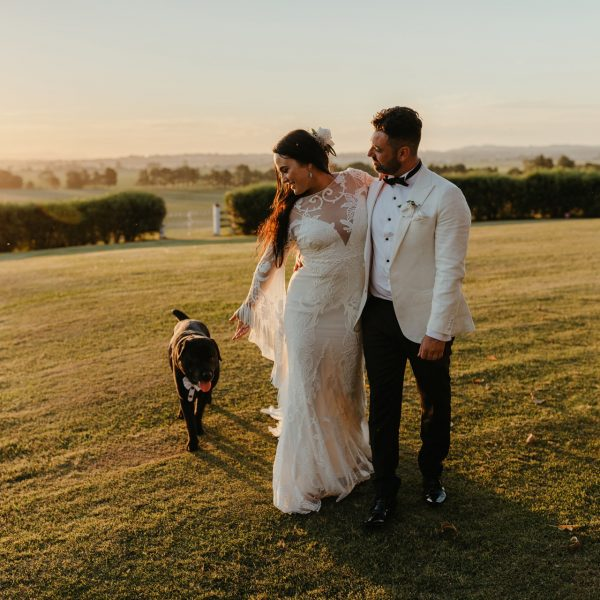 Kristy and Paul's Amazing (and Dog friendly!) Wedding at Wallalong House, Hunter Valley
